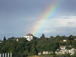Saint-Marks-Cathedral-Rainbow