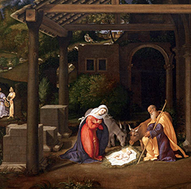Christmas Tells Us Christ Is Here…