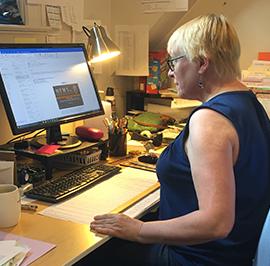 Finance Assistant and Insurance Coordinator Lori Hardow
