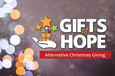 Christmas Giving.Gifts Of Hope Alternative Christmas Giving