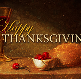 Happy Thanksgiving: A Message from Bishop Rickel