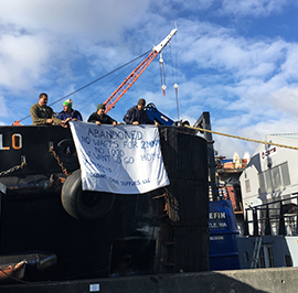 Mission to Seafarers, Seattle: Follow-Up on Abandoned Tugboat
