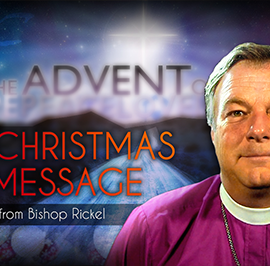 Christmas Blessings from Bishop Rickel