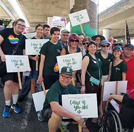 Join the Diocese of Olympia at the Seattle Pride Parade!