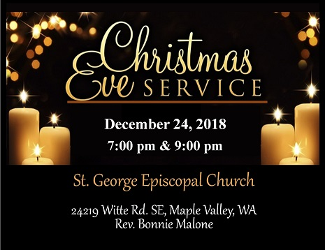 Christmas Eve Services Near Me.Candlelight Christmas Eve Services At St George Maple Valley