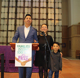 Father Seeks Sanctuary at Saint Mark's Episcopal Cathedral, Seattle