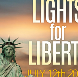 St. Paul, Seattle Participates in Lights for Liberty