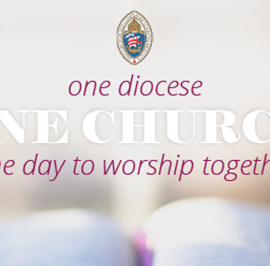 One Diocese, One Church, One Day to Worship Together