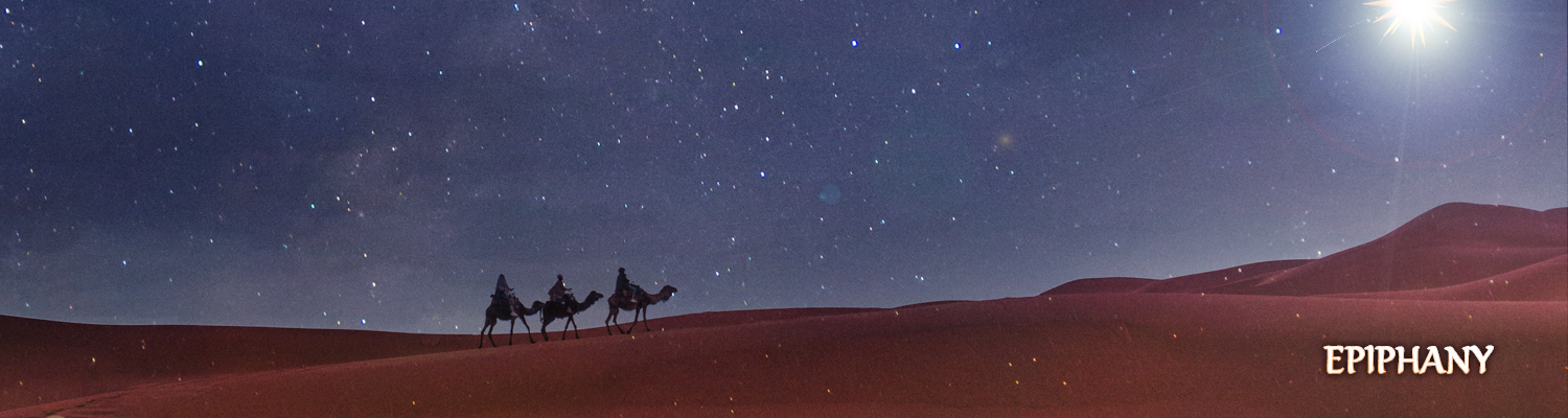 In Epiphany We Trace, All the Glory of His Grace