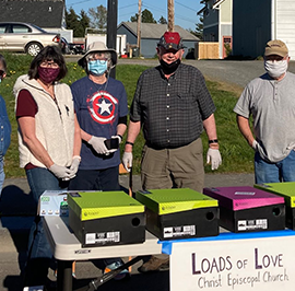 """Locally Centered Ministries: """"Loads of Love"""" from Christ Church, Blaine"""
